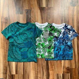 Boys Tropical Print Tees